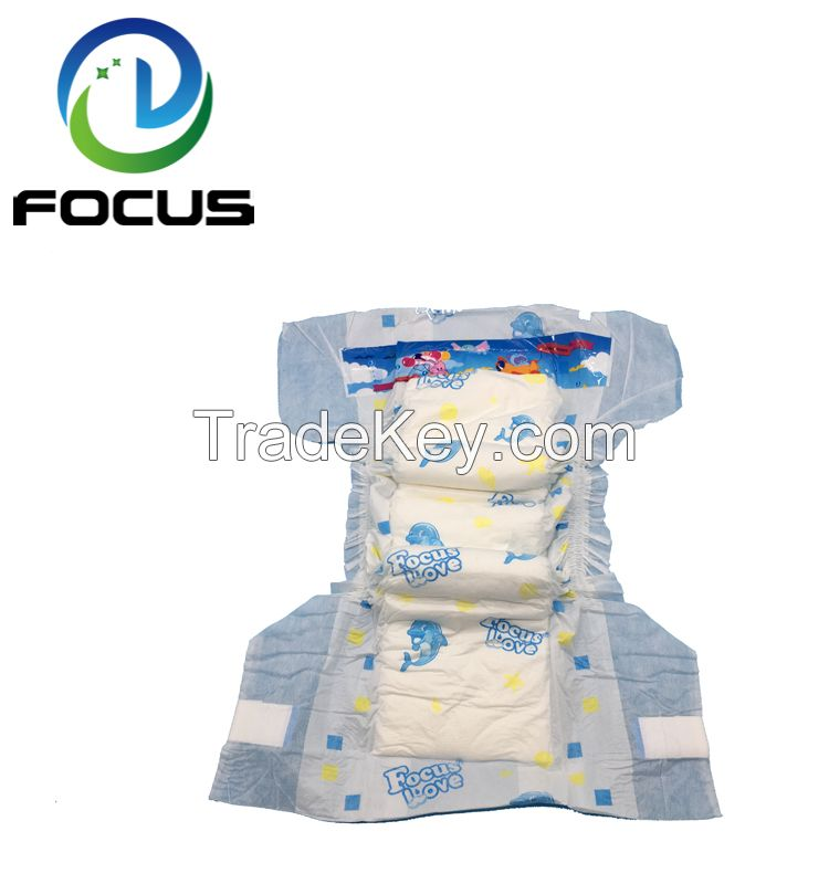 2018 New Fashion Hot Sale Customized Printed Diaper Manufacturer in China