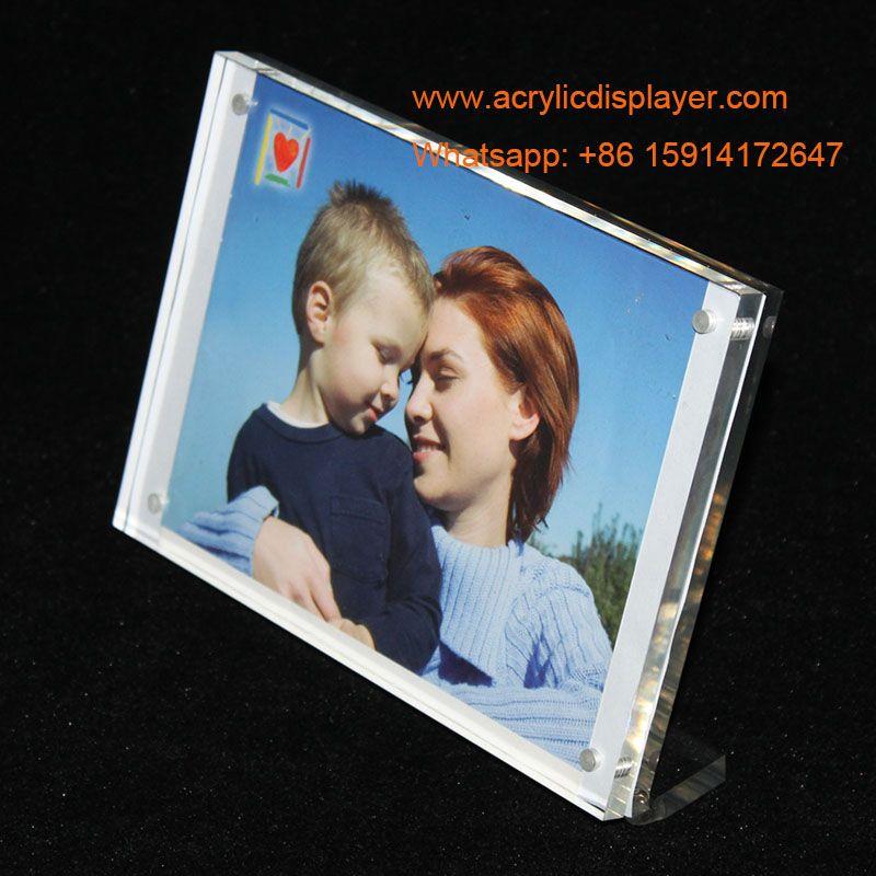 Magnetic Acrylic Photo Frame