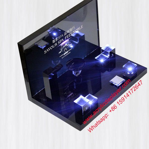 Clear Acrylic Cosmetic Display Holder