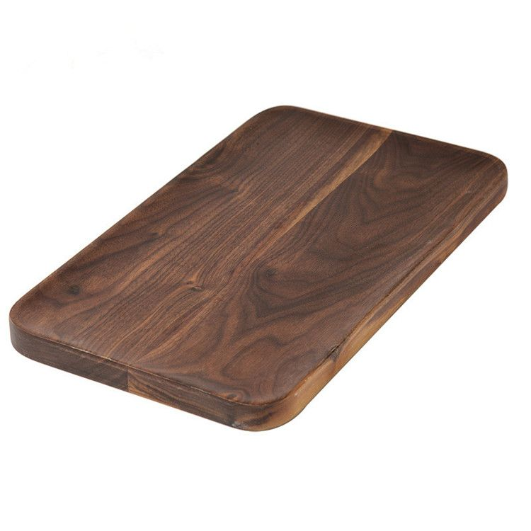 Japan Wood Food Tray Eco Rectangle Bread Plate Wood Tray Made in China