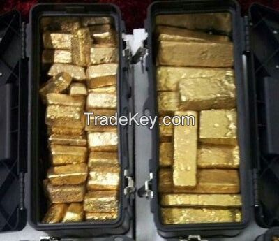 Raw Gold Bars And Nuggets For Sale