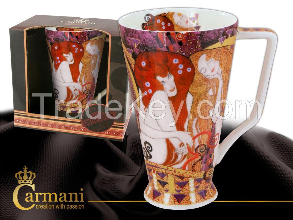 Kayak Mug G. Klimt- Beethoven Frieze