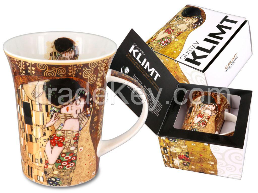 Mug - Gustav Klimt, The Kiss