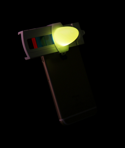 Smartphone color changer