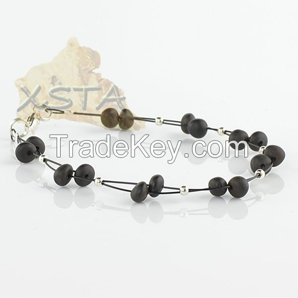Black Wholesale Amber Bracelets