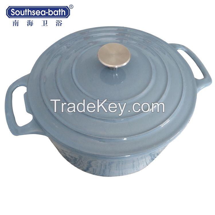 Enamel Cast Iron Soup Pot