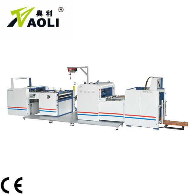 ZWFM automatic thermal bopp opp film laminating machine