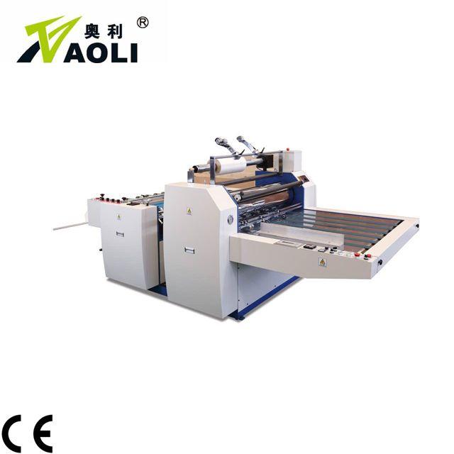Factory manual thermal laminating machine hot lamination