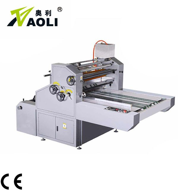 Manual water based window film laminator machine for BOPP, OPP
