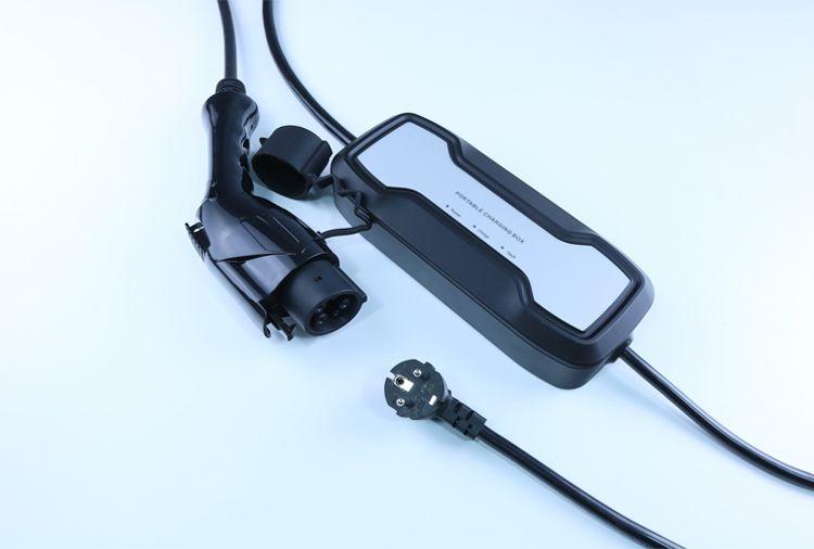 10A Portable EV Charging Box Type1 to UK