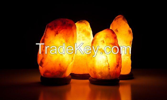 Lamps rock salt