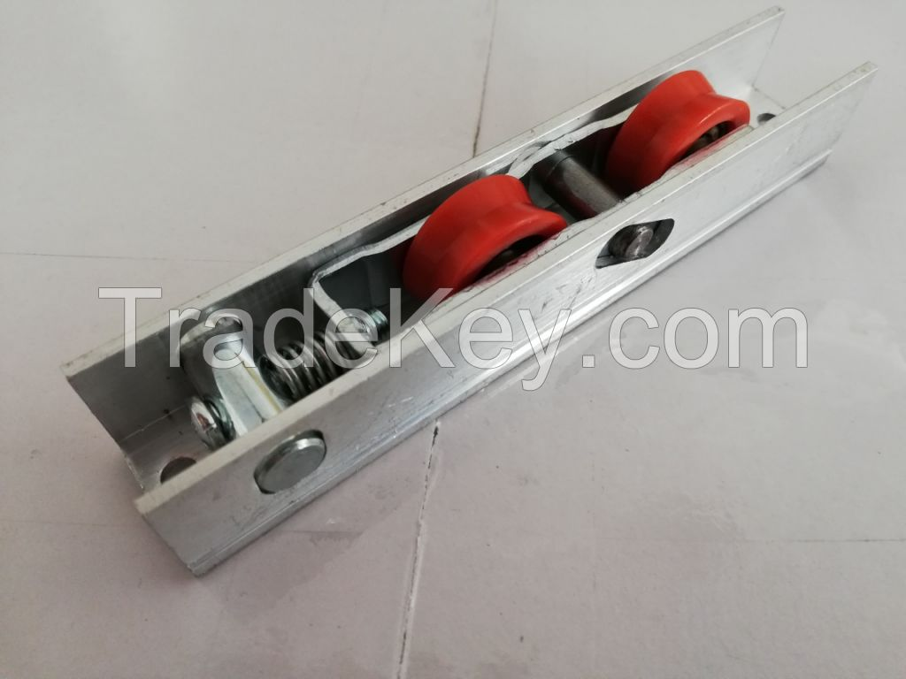 SLIDING ROLLER FOR PVC and ALUMINIUM DOUBLE WHELL