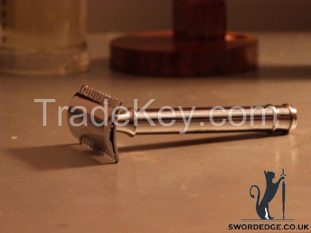 Sword edge Double edge razor Heavy Duty 115 grams open comb head