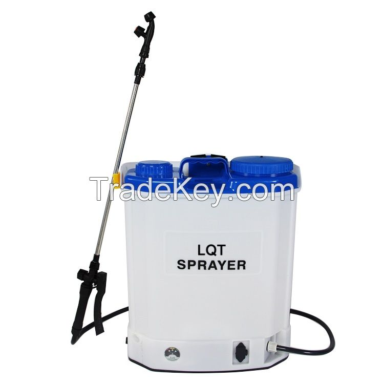 16L Knapsack Powered Battery Sprayer for Agriculture and Garden