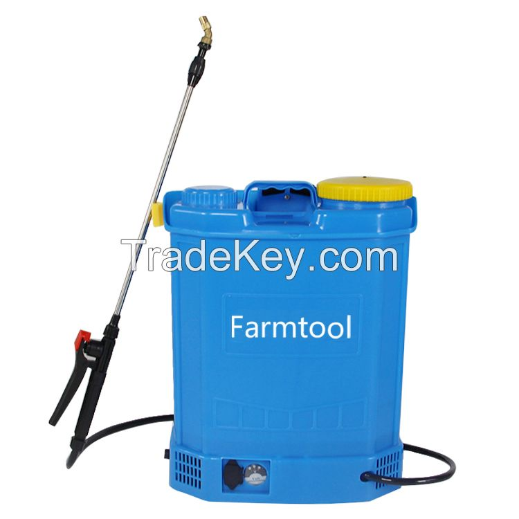 Agriculture Knapsack 18L Capacity Electric and manual 2 In1 Insect Sprayer Machine
