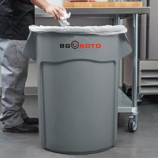 Foshan nanhai Boguan plastic stand plastic garbage bin manufacture factory