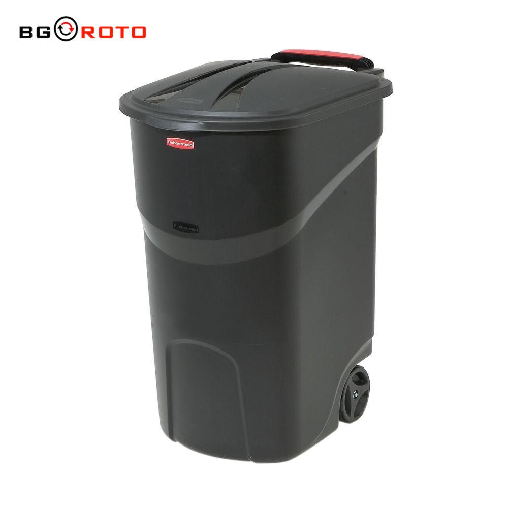 High quality rotational molding plastic rubbish wheel bin