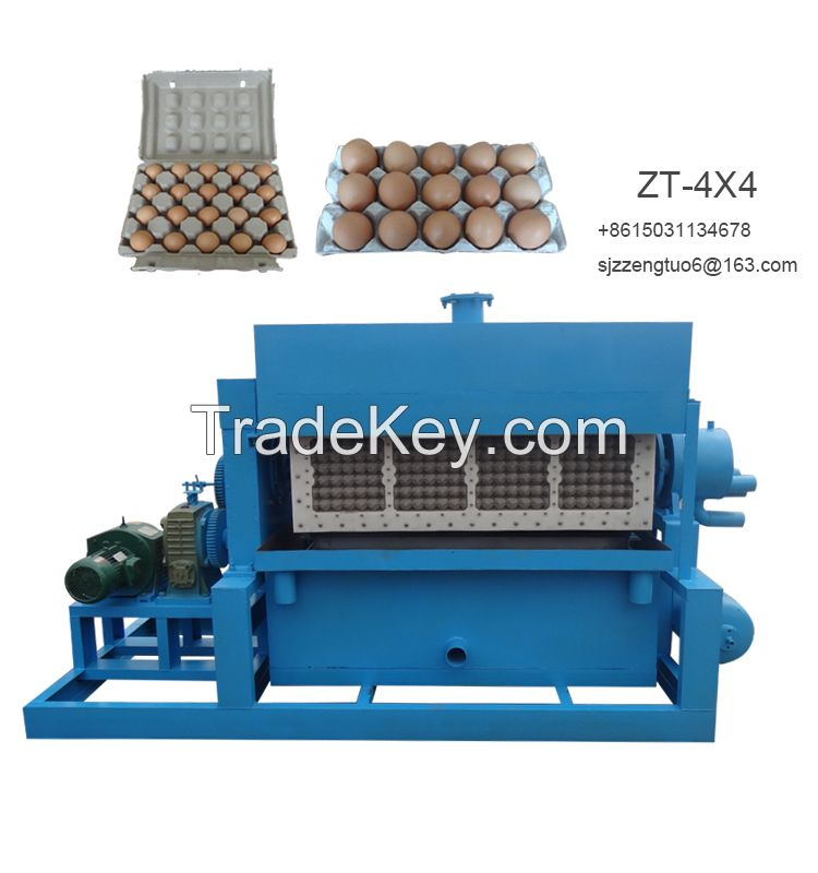 Competitive advantage full automatic recycled paper pulp molding egg tray machine