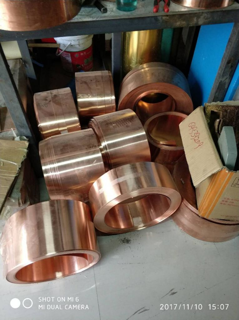 bronze strips H62