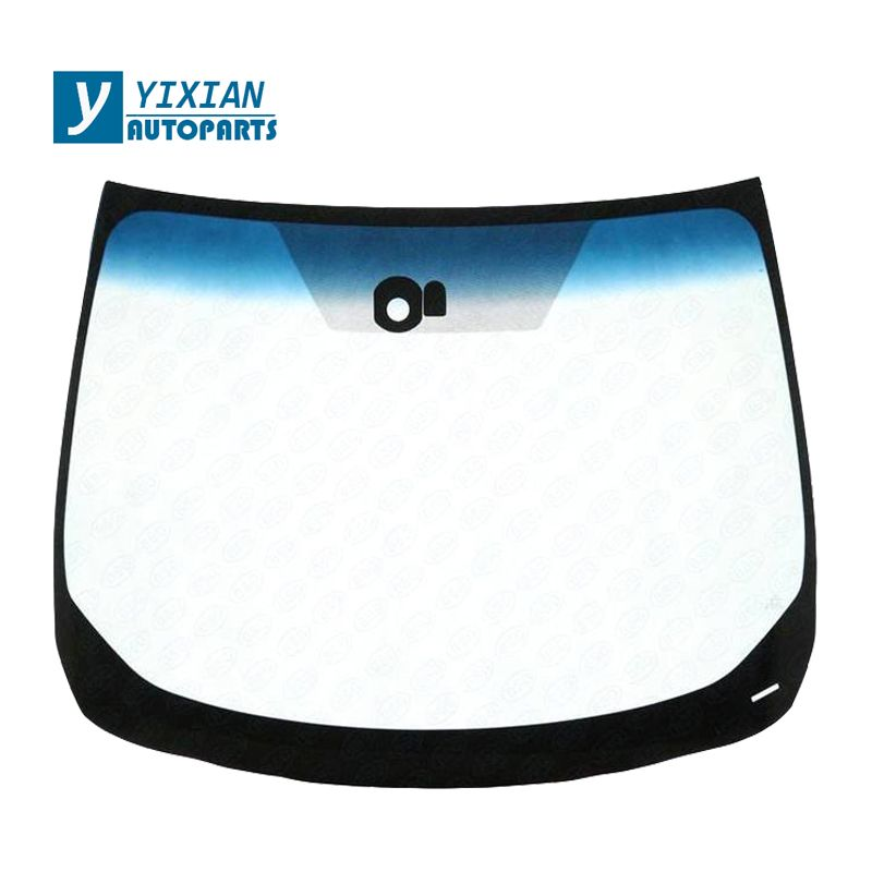 AUTO FRONT WINDSHIELD LAMINATED FRONT GLASS AND REAR TEMPERED GLASS