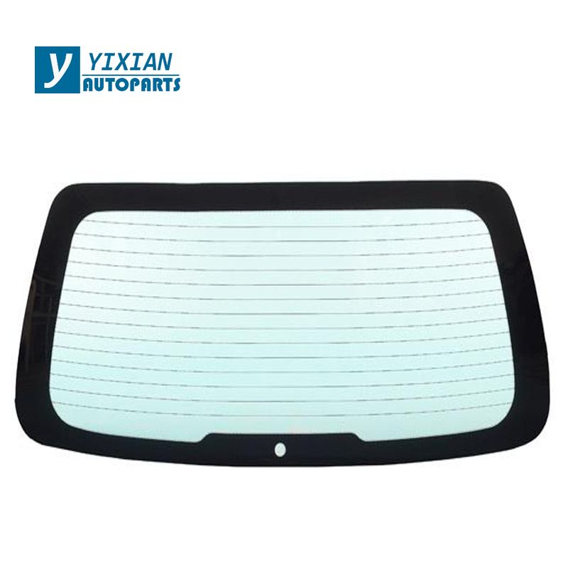 AUTO  REAR TEMPERED WINDSHIELD GLASS