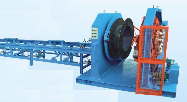 Automatic Pole Concrete Cage Welding Machine