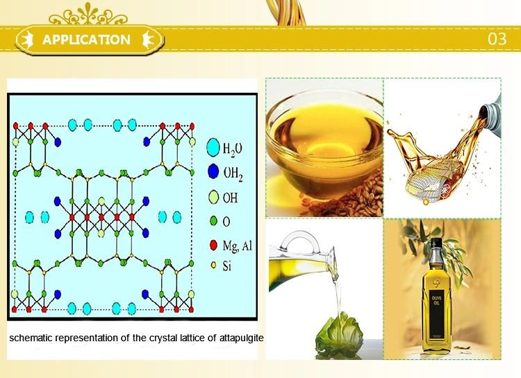 Attapulgite granular for oil refining