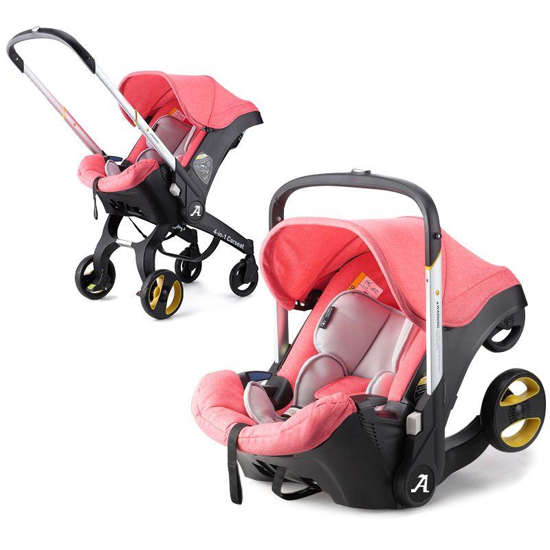 Baby Stroller 4 In 1 Newborn Baby Bassinet Cradle Type Child Safety Se