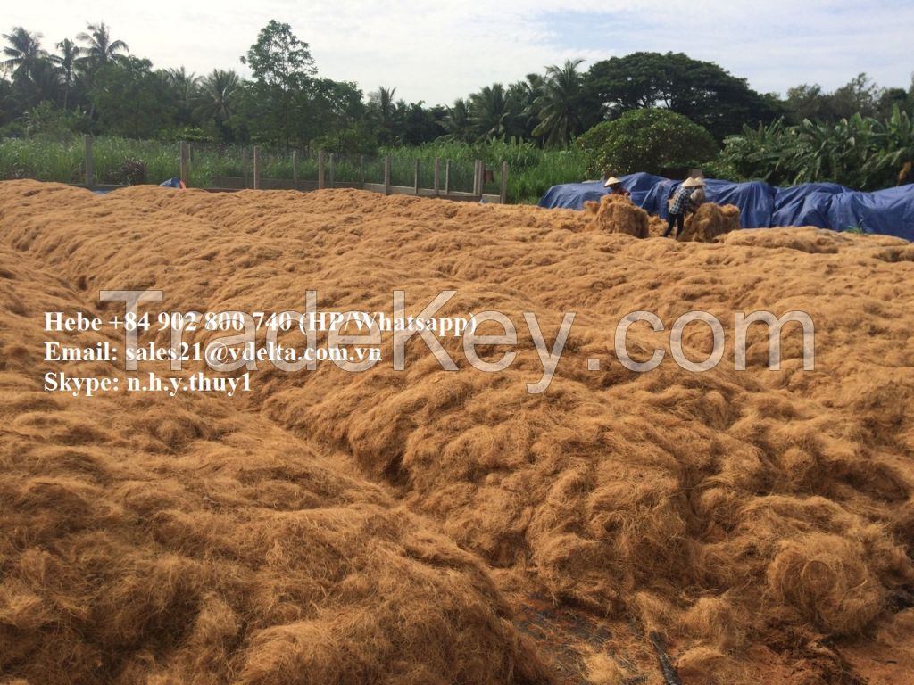 COCONUT FIBER FROM VIETNAM - Ms.Hebe +84 902 800 740