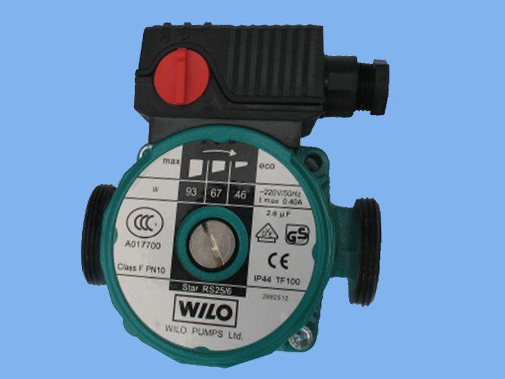 Solar water heater pumps