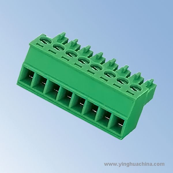 Pluggable terminal block Connector - 3.5 3.81 Pitch Female - No. 0942-15EDGK-3.5 3.81