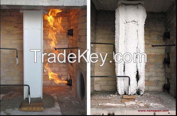 Fireproof paint (NAX FP-J0): fire retardant smart paint