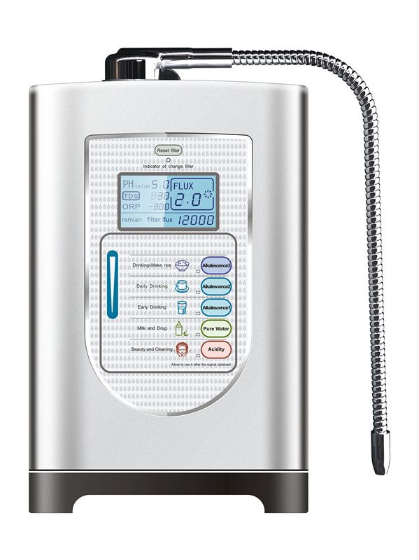 Hot Sale Home Water Ionizer ZJW-816L With 3 Stage Pre-filter