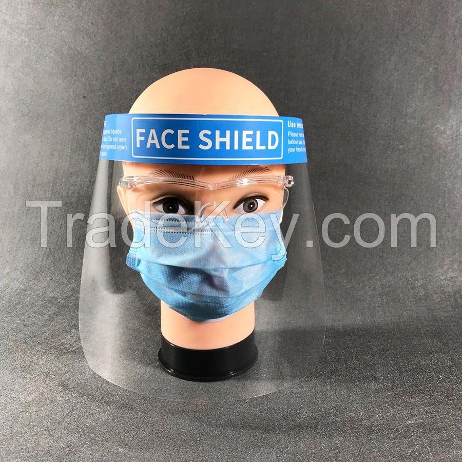 Anti-fog isolation face shield