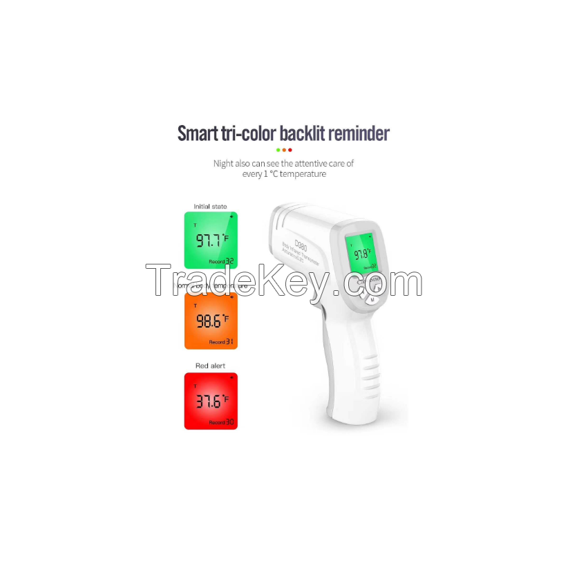 Intelligent Electronic Non-contact Body Digital Infrared Forehead Thermometer With Lcd Backlight Wholesale factory