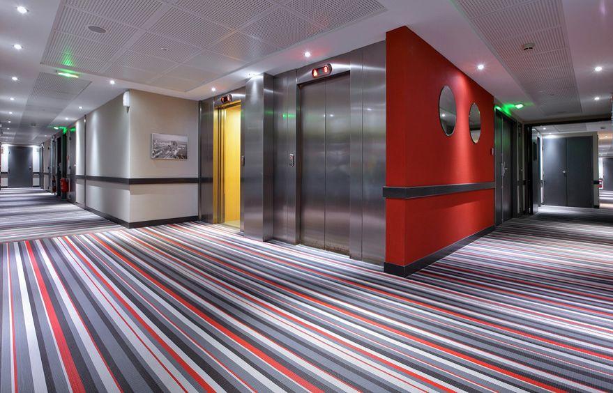 pvc woven vinyl flooring for hotel