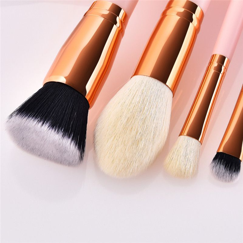 Makeup Brushes 30PCS Pink Wooden Cosmetic Makeup Brush Foundation  Eyeshadow Powder Cosmetic Brushes