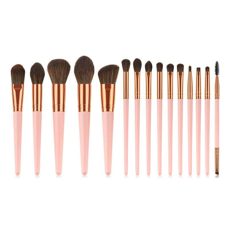 Drop Shipping Makeup Brushes Set 12 pcs/lot Eye Shadow Blending Eyeliner Eyelash Eyebrow Brushes For Makeup