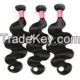 Meetu Brazilian Body Wave Hair 3 Bundles 100% Virgin Human Bundles Deals