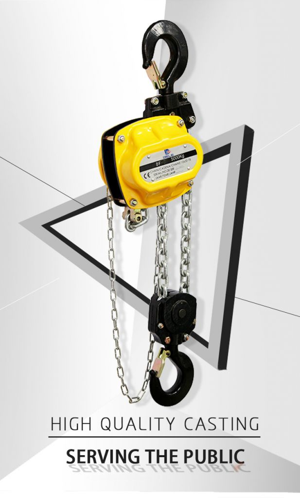 Hangzhou supplier 3t manual chain hoist