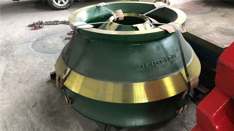 crusher wear parts with high manganese steel