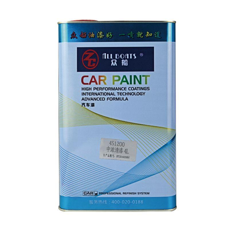 ALL BOATS Car Paint Varnish Spray Paint for Car Refinish or Repair Medium High Strength Varnish Mirror Varnish 2K Profil Clear Xpress Clear Coat