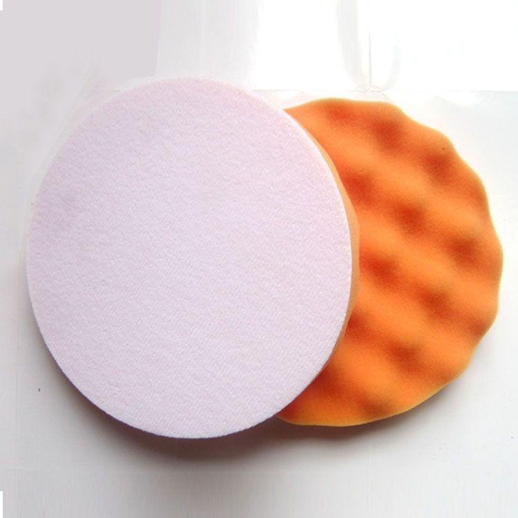 Polishing Pads Flat Waffle Foam Buffing Pads For Car Care Polisher
