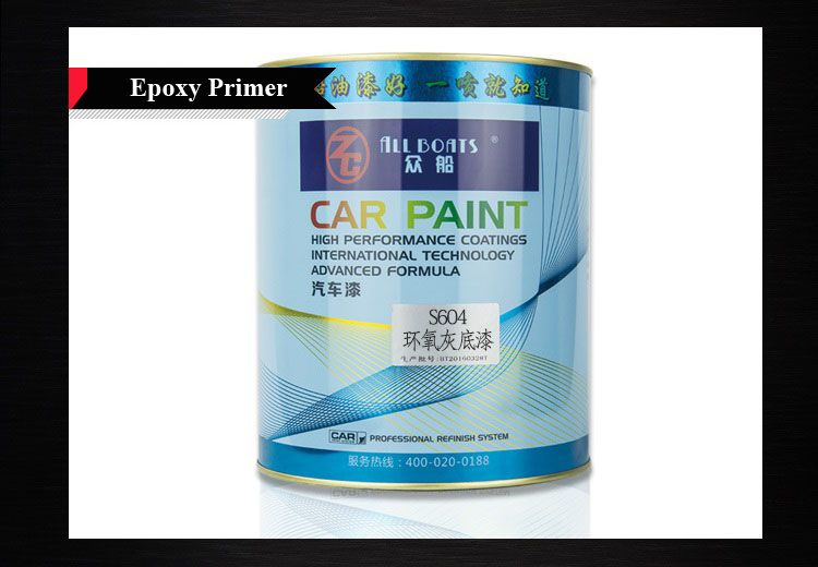 ALL BOATS Car Paint Primer Color Paint Spray Paint for Car Refinish or Repair Plastic Primer Epoxy Primer Two-component Primer Gray Primer