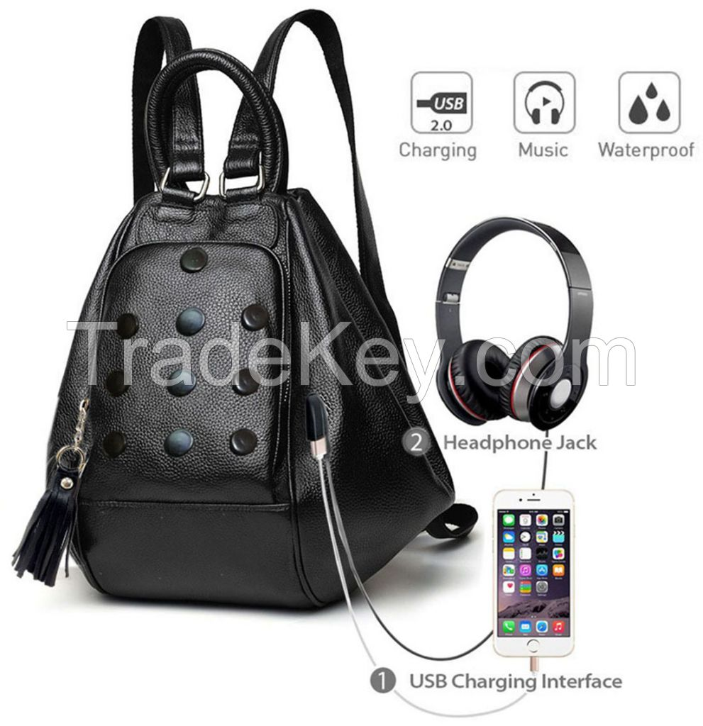 Deal Especial 3 way use- as a backpack or a shoulder sling bucket bag big size Stylish designer women bag gifts