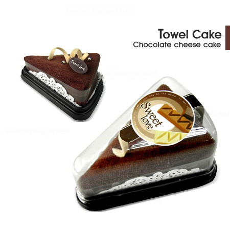Towel Cake Chocolate Cheese Cake
