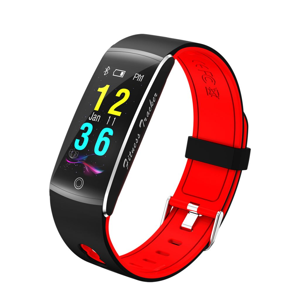 F10 New arrival fit bit wristband bt healthy smart bracelet with color display Fitness Tracker