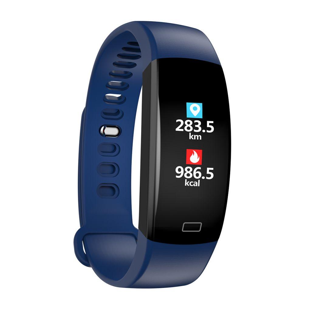 F64HR Sports Smart Bracelet GPS Tracking Blood Pressure Oxygen Heart Rate Monitoring Bracelet