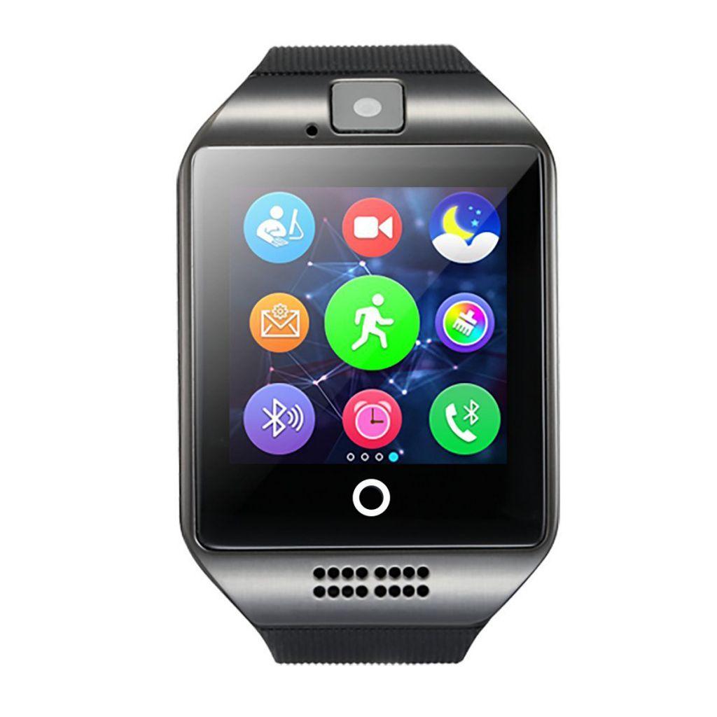 QW18 Heart rate blood pressure oxygen bt sports pedometer Color screen smart bracelet