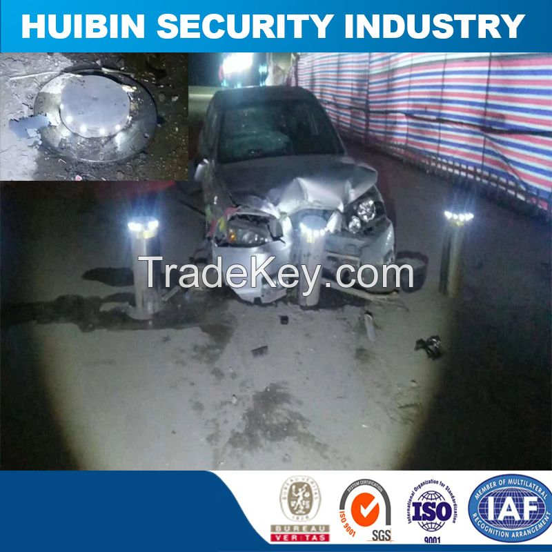 Access Control Automatic Electric Bollard Fence for Car Parking System